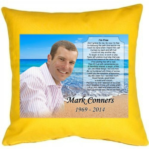 keepsake pillow