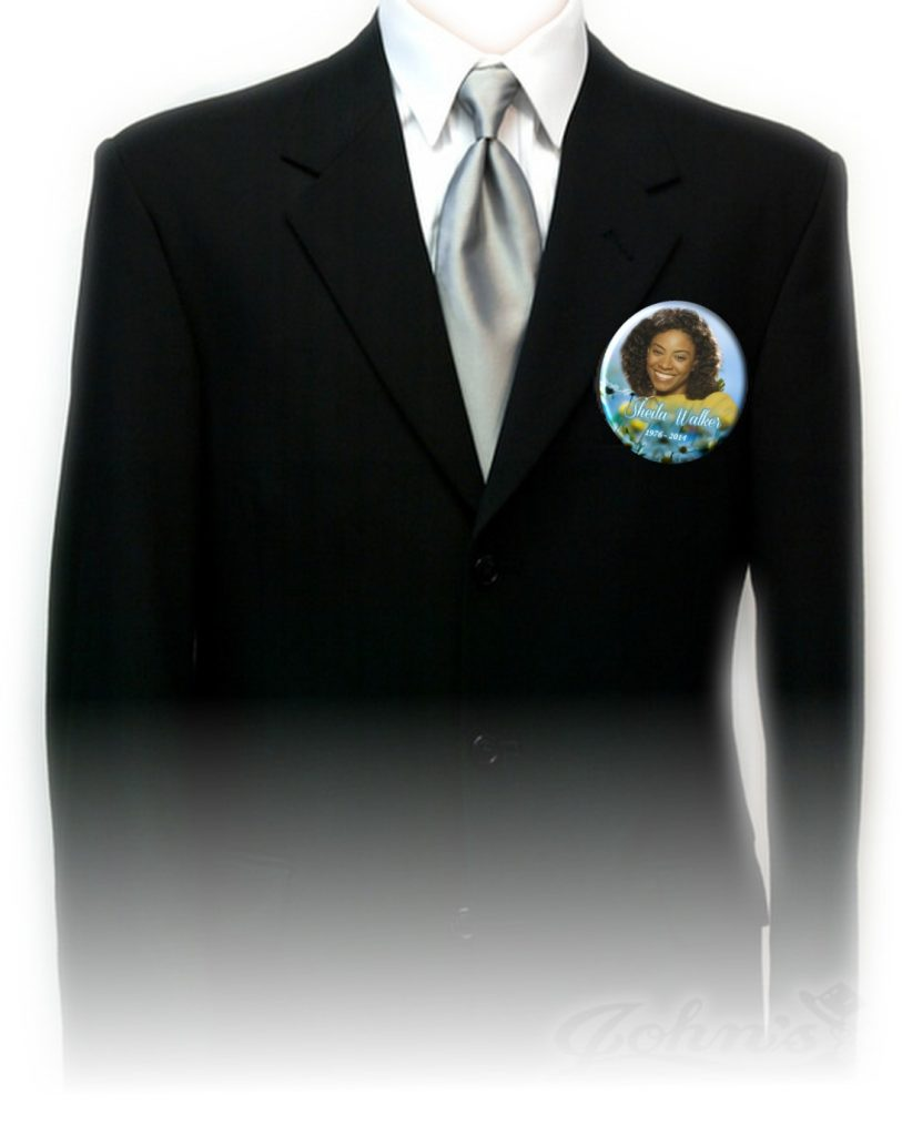 button on suit