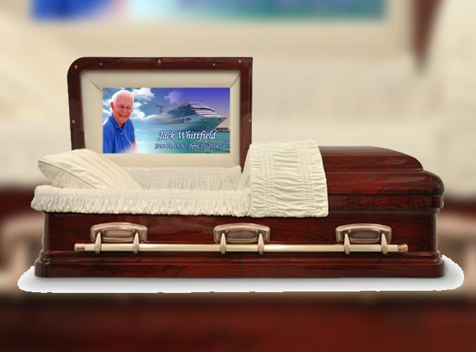 Casket Photo Panel