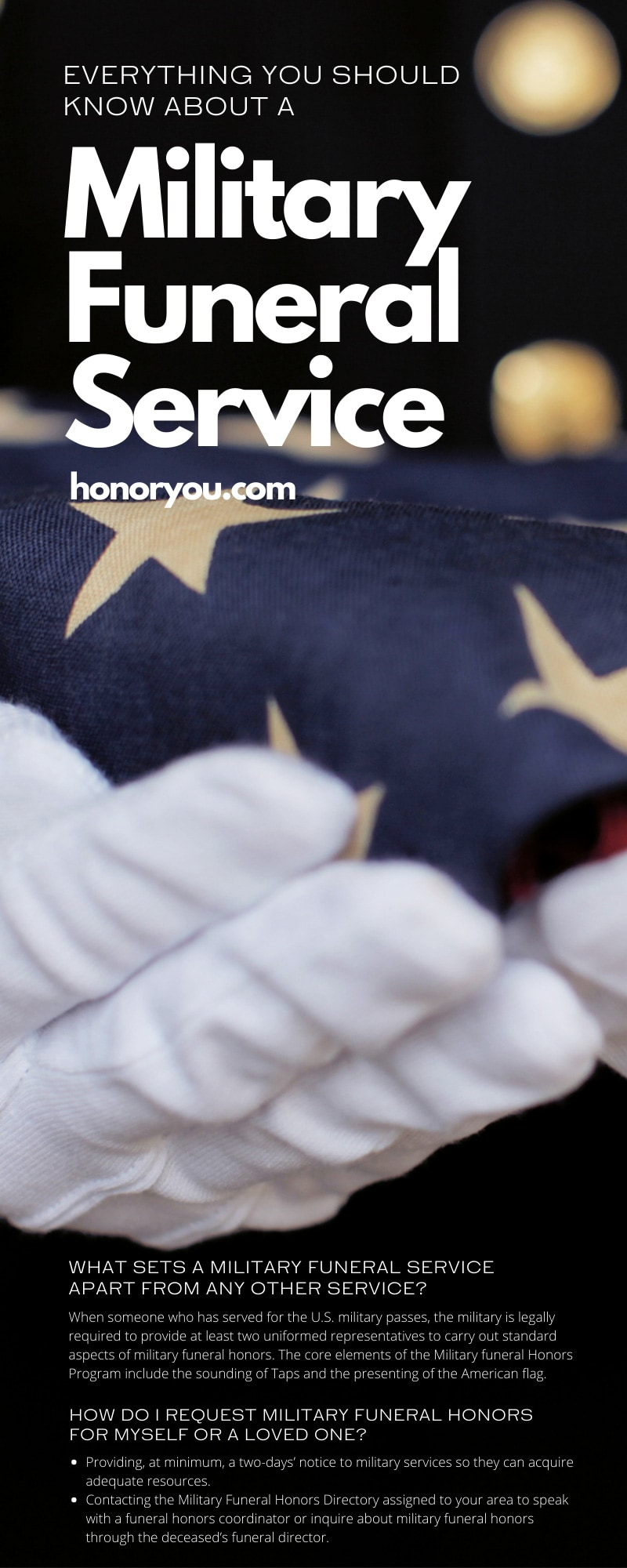 Everything You Should Know About a Military Funeral Service